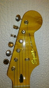Squier Classic Vibe Stratocaster 50s Headstock