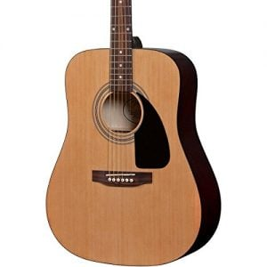 Fender-FA-100-Dreadnought-Acoustic-Guitar-with-Gig-Bag-Natural-0