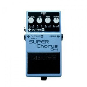 Boss CH-1 Stereo Super Chorus Pedal – When All You Need Is Core Performance On a High Level