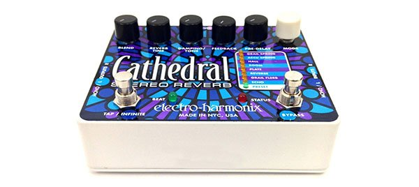Electro-Harmonix Cathedral Stereo Reverb Pedal – New Levels Of Depth