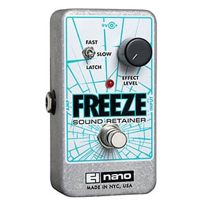 Electro-Harmonix Freeze Sound Retainer Compression Guitar Effects Pedal – When Standard Compressors Just Don't Cut It