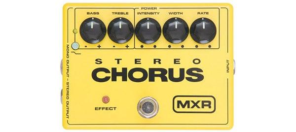 MXR Stereo Chorus Effect Pedal – Ultimate Fidelity Chorus Box