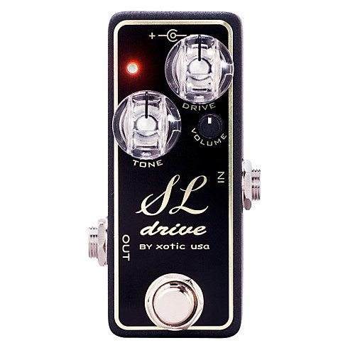 Xotic Effects SL Drive Distortion – Low Profile High Gain