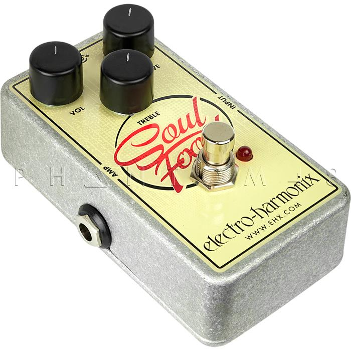 Electro-Harmonix SOULFOOD Distortion/Fuzz/Overdrive Pedal – Bringing Back The Vintage Dist