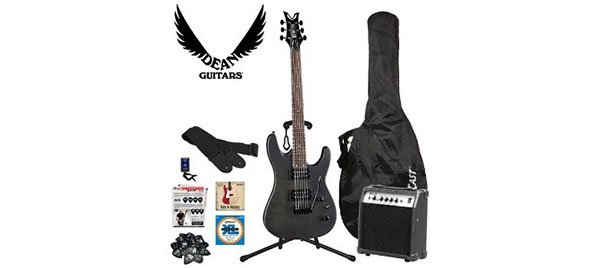 Dean Electric Guitar Starter Pack with Vendetta XMT