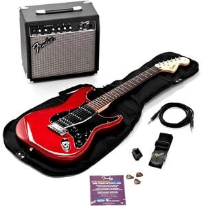 Squier by Fender Strat HSS Pack 300
