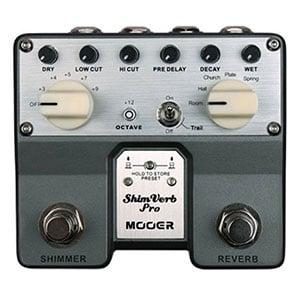 Mooer TVR1 Shimverb Pro Dual Digital Reverb Pedal