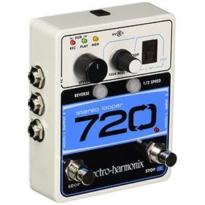 Electro Harmonix 720 Stereo Looper – A Lot Of Range In a Small Package