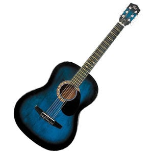 Rogue Starter Acoustic Guitar Blue Burst – A Capable Underdog In The Beginner Range