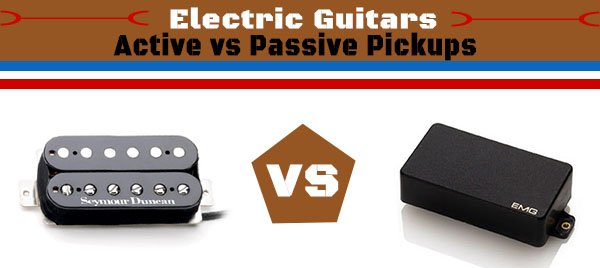 what 39 s the difference between active passive guitar pickups. Black Bedroom Furniture Sets. Home Design Ideas