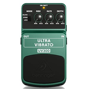 Behringer Ultra Vibrato UV300 – Quality On The Cheap