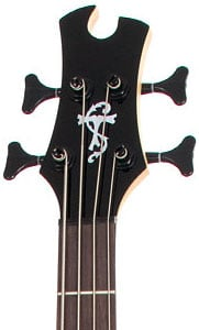 Epiphone Toby Standard IV Bass Guitar Headstock