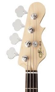 """G&L Tribute JB2 Bass Guitar Headstock"""" width="""