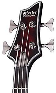 Schecter Hellraiser Extreme 4 Bass Guitar Headstock