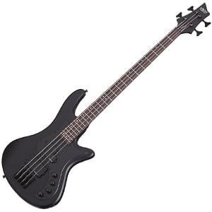 Schecter Stiletto Stealth 4 Bass Guitar Review – Definition Of Metal Bass Sound