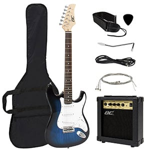 The Amazon Bestseller Starter Electric Guitar Package