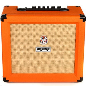 Orange Amplifiers Crush 35RT – A New Age Orange Box