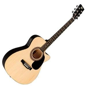 Rogue RA-090 Concert Cutaway – Super-Value Electro-Acoustic