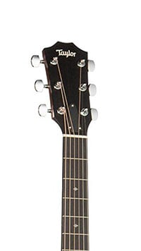 Taylor 200 Series Deluxe 224ce-K Headstock