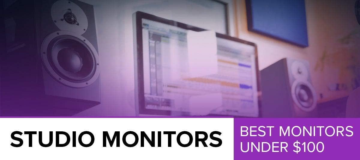 5 Best Cheap Studio Monitors Under $100 (2019) - GuitarFella com