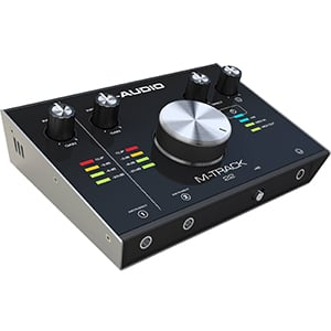 M-Audio M-Track 2X2 C-Series Review – A Classy Studio Companion