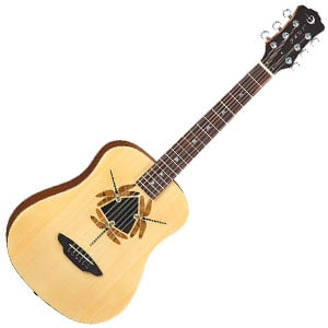 Luna Safari Series Dragonfly Review – The Guitar with the Dragonfly Tattoo!