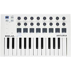 Arturia MiniLab MkII 25 Review – Cool and Compact MIDI Controller