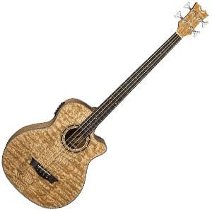 Dean Exotica Quilt Ash Bass Review – Acoustic Bass Tone with a Visual Flair