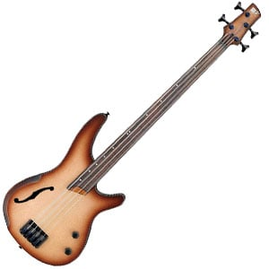 Ibanez SRH500F Bass Review – A Fretless Bass with an Organic Feel