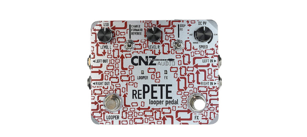 CNZ Audio Re-Pete Stereo Looper Pedal Review
