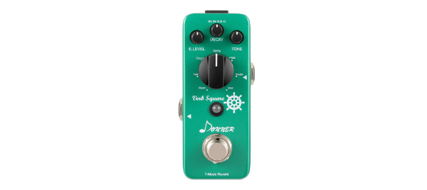 Donner Verb Square Pedal Review – Solid Reverb in a Small and Rugged Package