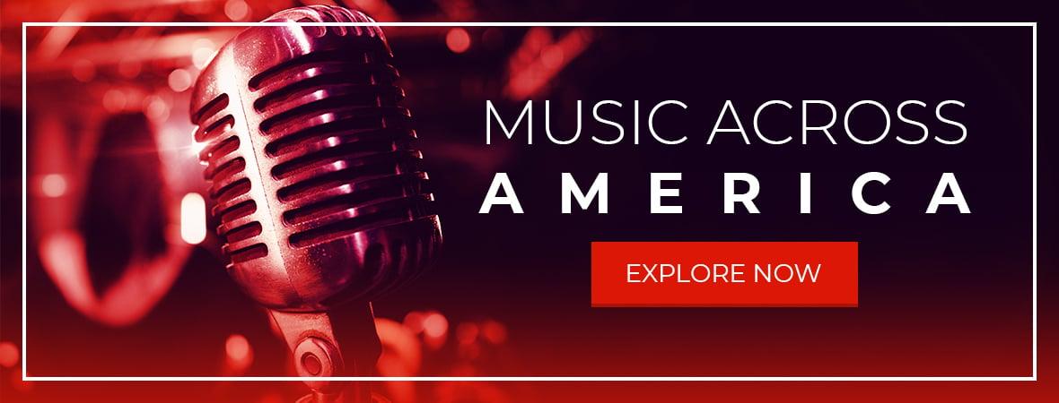 Music Across American Banner