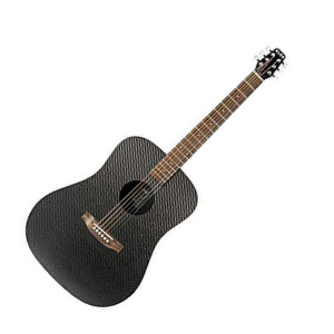 KLOS Carbon Fiber Full Size Acoustic Guitar Package Review