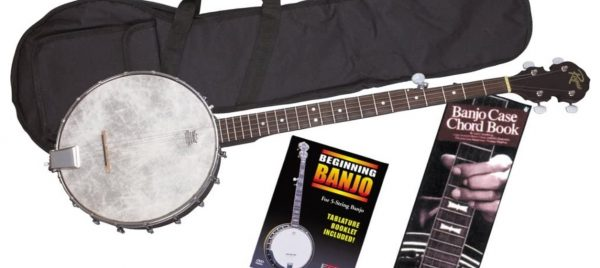 best beginner banjo starter kit image